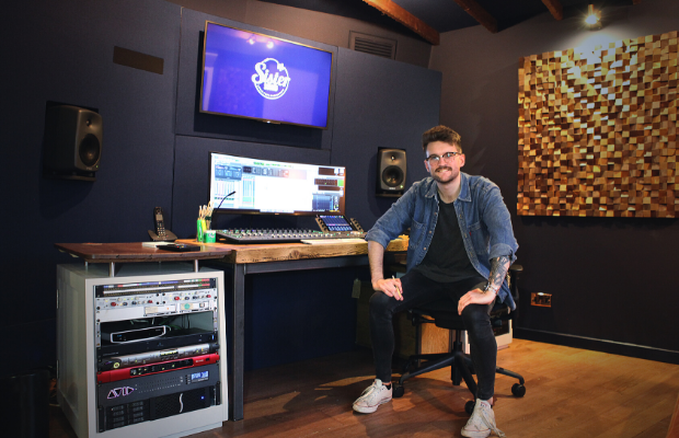 Designing A New Sound Studio: Jungle's Luke Isom Ticks Off Another Intriguing Bucket List Item